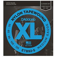 D'Addario ETB92-5 Nylon Tapewound .050-135 « Saiten E-Bass