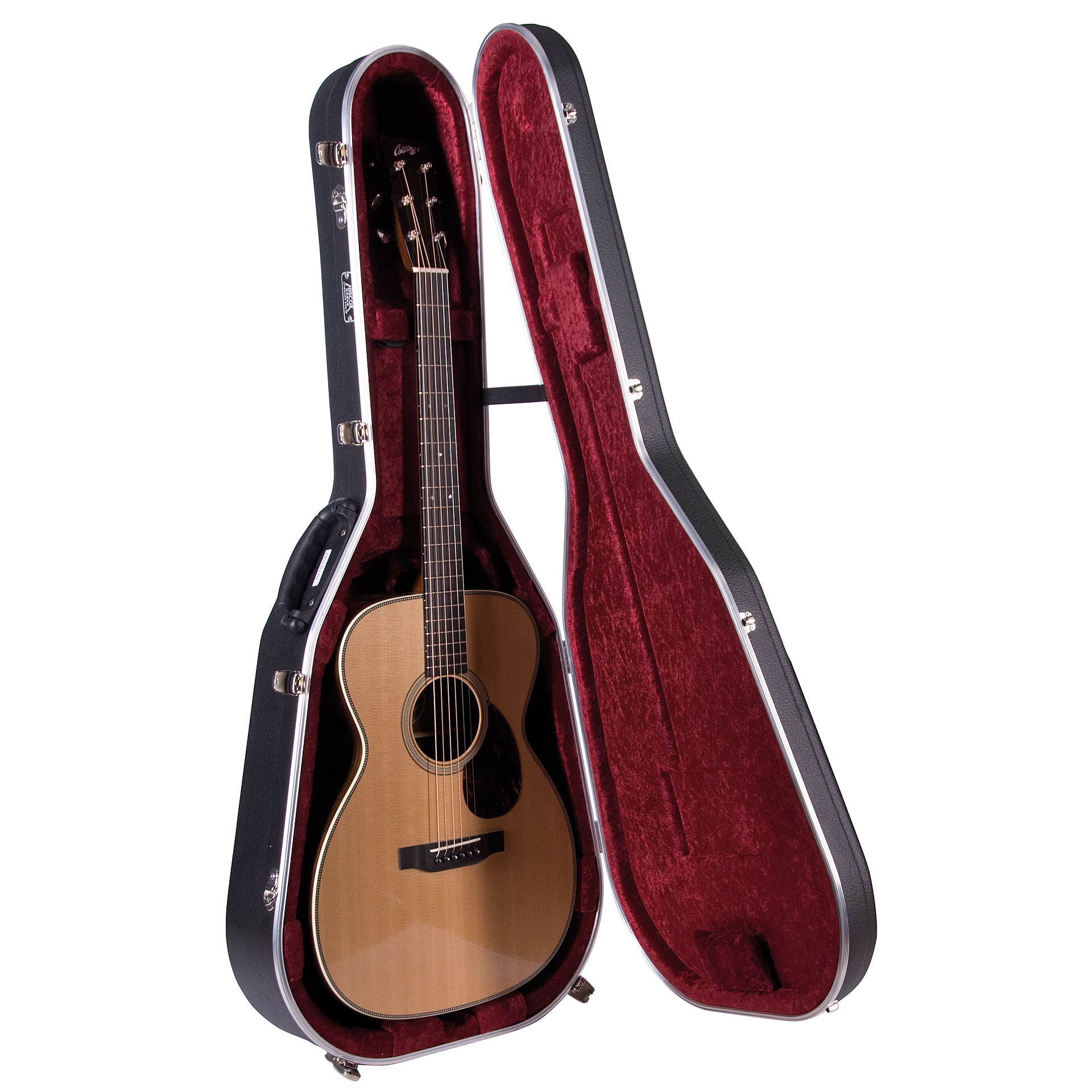 hiscox pro ii om ooo acoustic guitar case. Black Bedroom Furniture Sets. Home Design Ideas