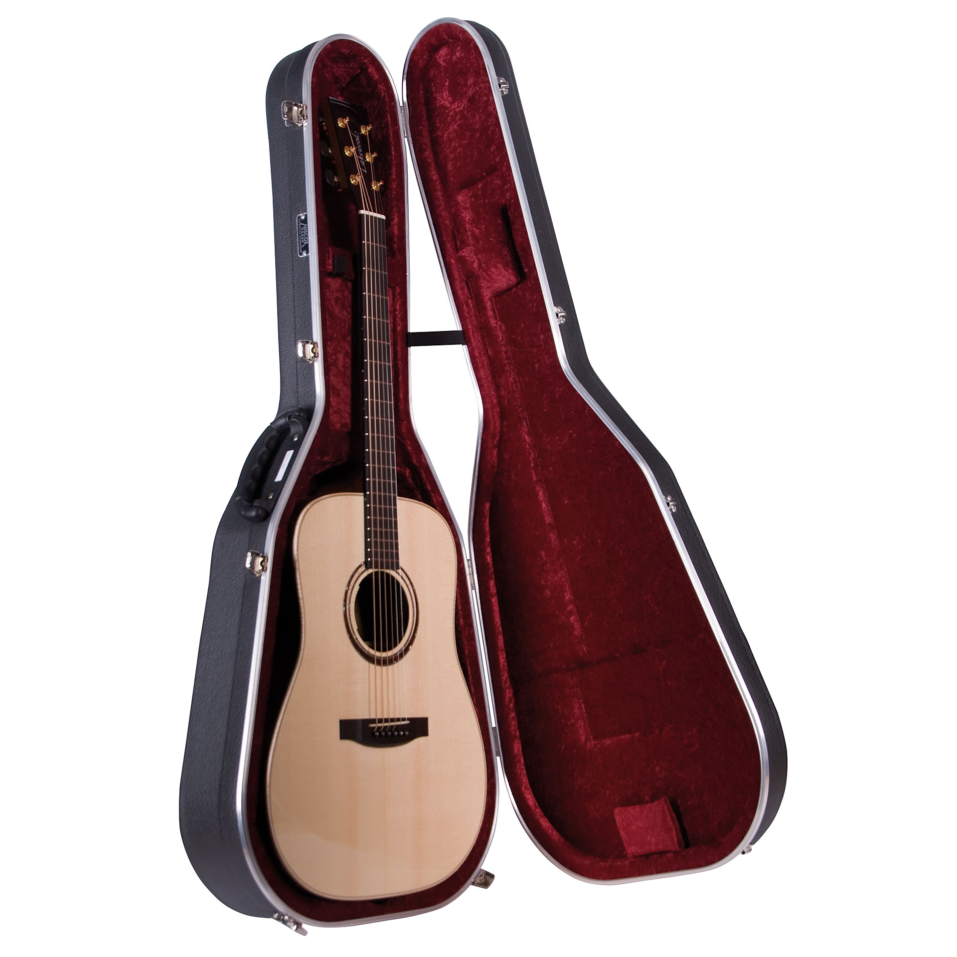 hiscox std ac acoustic guitar case. Black Bedroom Furniture Sets. Home Design Ideas