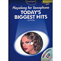 Play-Along Music Sales Today's Biggest Hits - Playalong for Saxophone