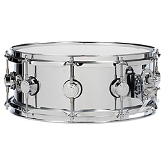 "DW Collector´s Steel 14"" x 5,5"" « Caisse claire"