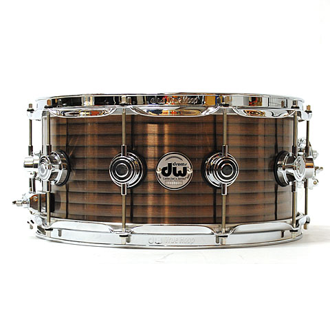DW Collector´s 14  x 6½  Vintage Copper over Steel