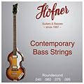 Struny do elektrycznej gitary basowej Höfner HCT1133R Beatles Bass