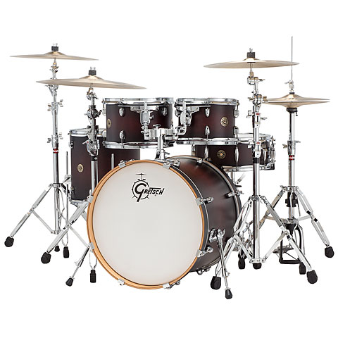 "Gretsch Drums Catalina Maple 22"" Satin Deep Cherry Burst Shellset"