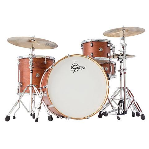 Gretsch 24  Satin Walnut Glaze Drumset