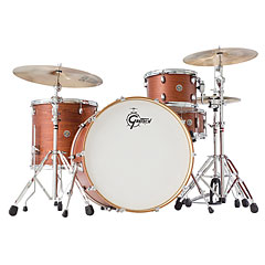 "Gretsch Drums Catalina Club 24"" Satin Walnut Glaze Drumset « Drum Kit"