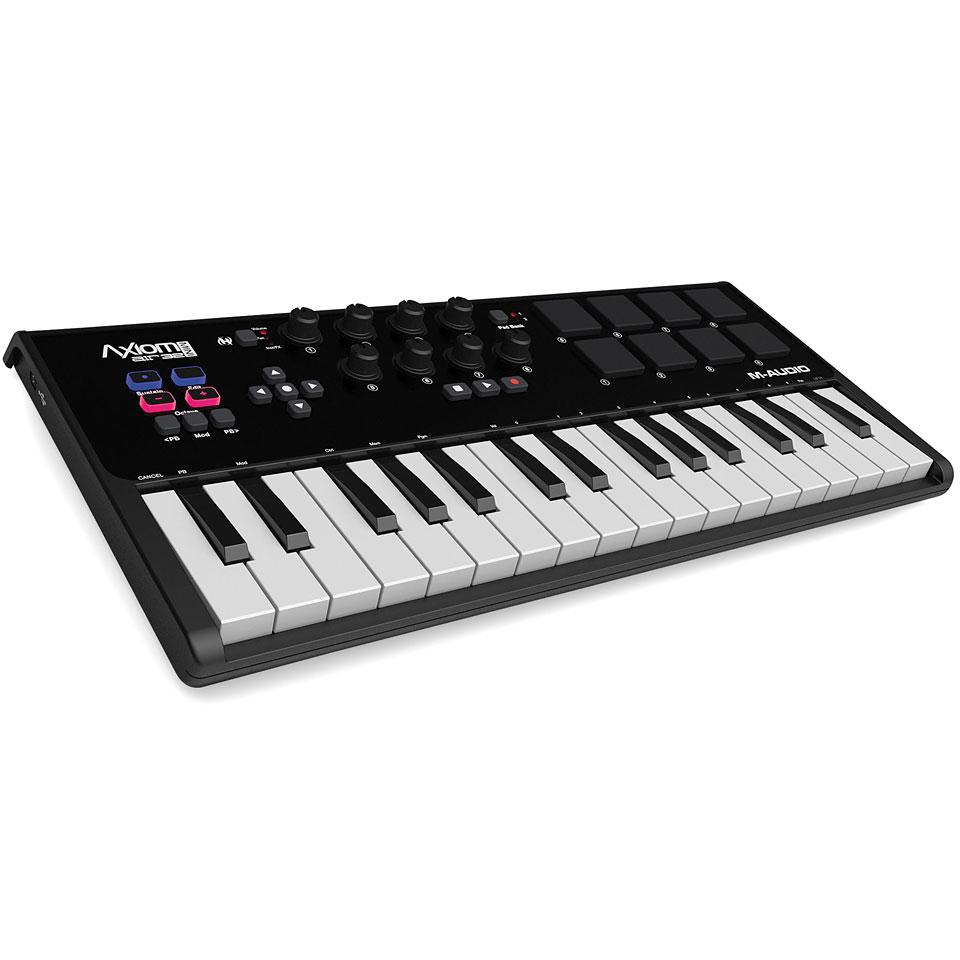 Midimasterkeyboards - M Audio Axiom Air Mini 32 Masterkeyboard - Onlineshop Musik Produktiv