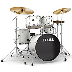 "Tama Rhythm Mate 20"" White Complete Drumset « Drum Kit"