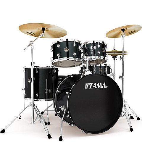 Tama Rhythm Mate 22  Black Complete Drumset