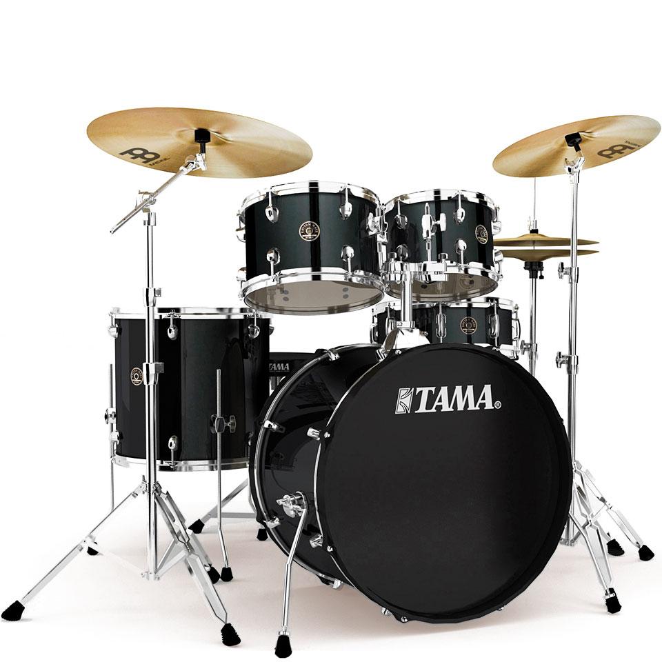 Akustikdrums - Tama Rhythm Mate 22 Black Complete Drumset Schlagzeug - Onlineshop Musik Produktiv