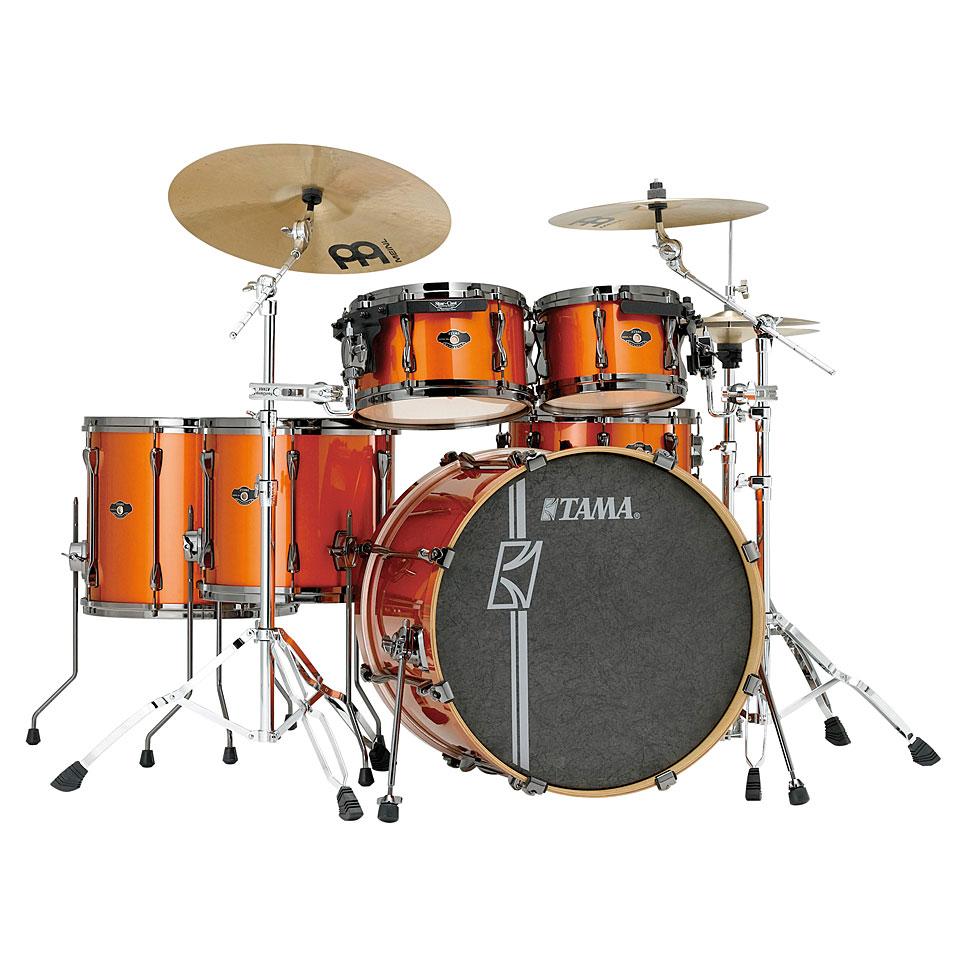Tama Superstar Cust Hyper Drive Sl62hzbn Bom 171 Drumstel