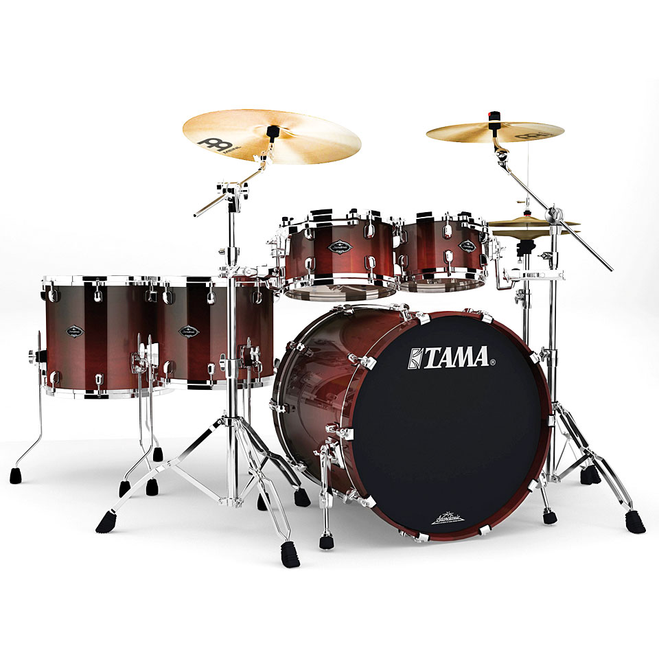 Tama starclassic performer pc52hxzs dcf hyper drive drum kit for Classic house drums