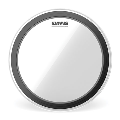 "Parches para bombos Evans Heavyweight EMAD Clear 24"" Bass Drum Head"