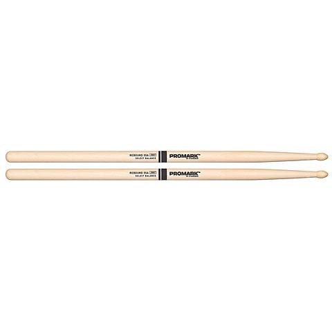 Baquetas para batería Promark Rebound Balance Hickory 55A Tear Drop Wood Tip