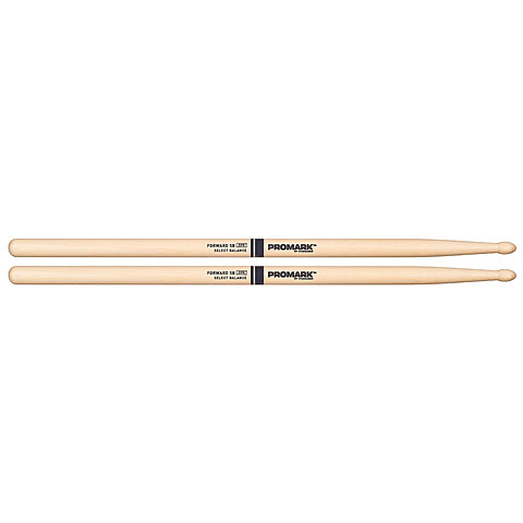 Baquetas para batería Promark Forward Balance Hickory 5B Tear Drop Wood Tip