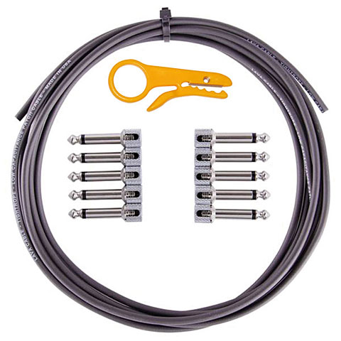 Lava Cable TightRope Pedal Board Kit 3m BLACK