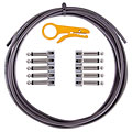 Lava Cable TightRope Pedal Board Kit 3 m black « Patch Cable