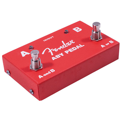 Littler helper Fender ABY Pedal