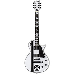 ESP LTD Iron Cross Snow White James Hetfield « Elektrische Gitaar