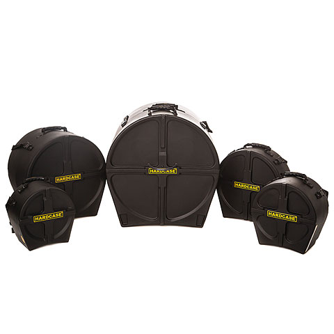 Hardcase 22/10/12/16/14 Drum Case Set for Hyperdrive Sets