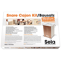 Sela Snare Cajon Kit Medium
