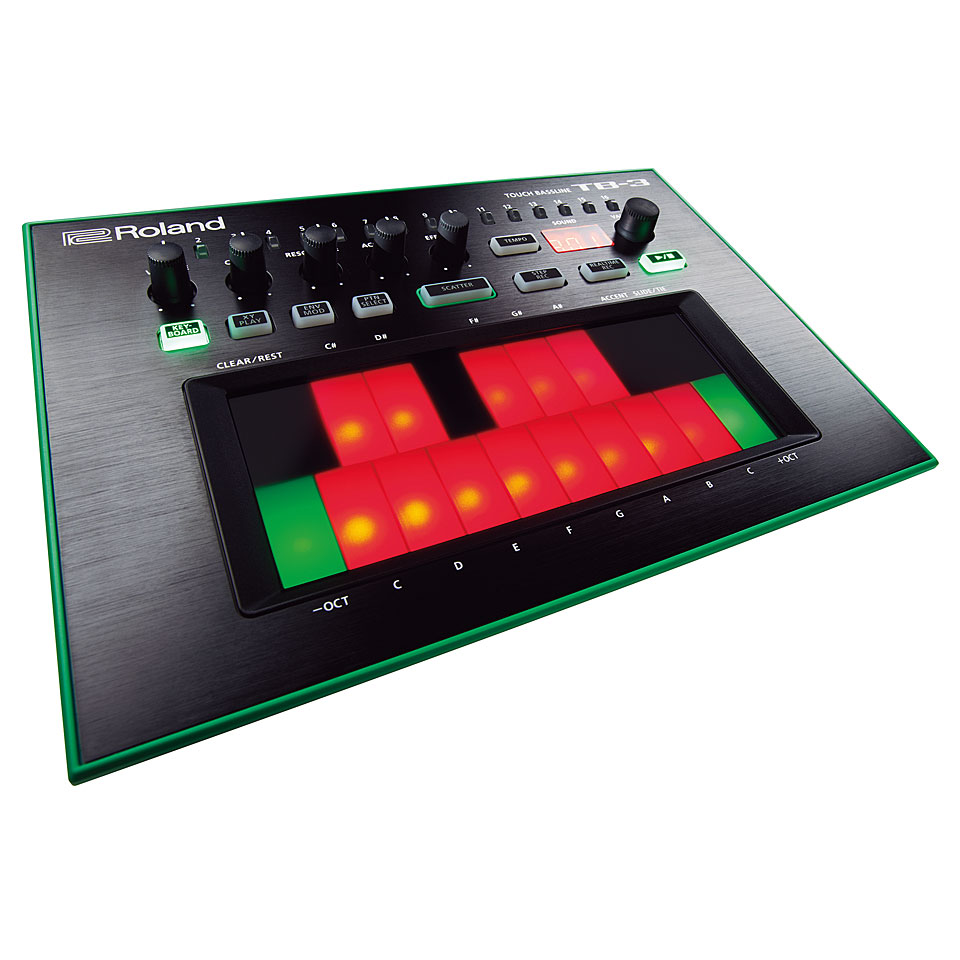 Synthesizer - Roland TB 3 Synthesizer - Onlineshop Musik Produktiv