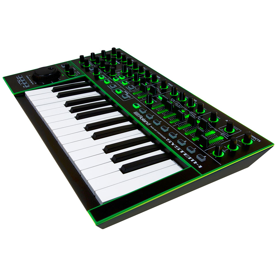 roland aira system 1 synthesizer musik produktiv
