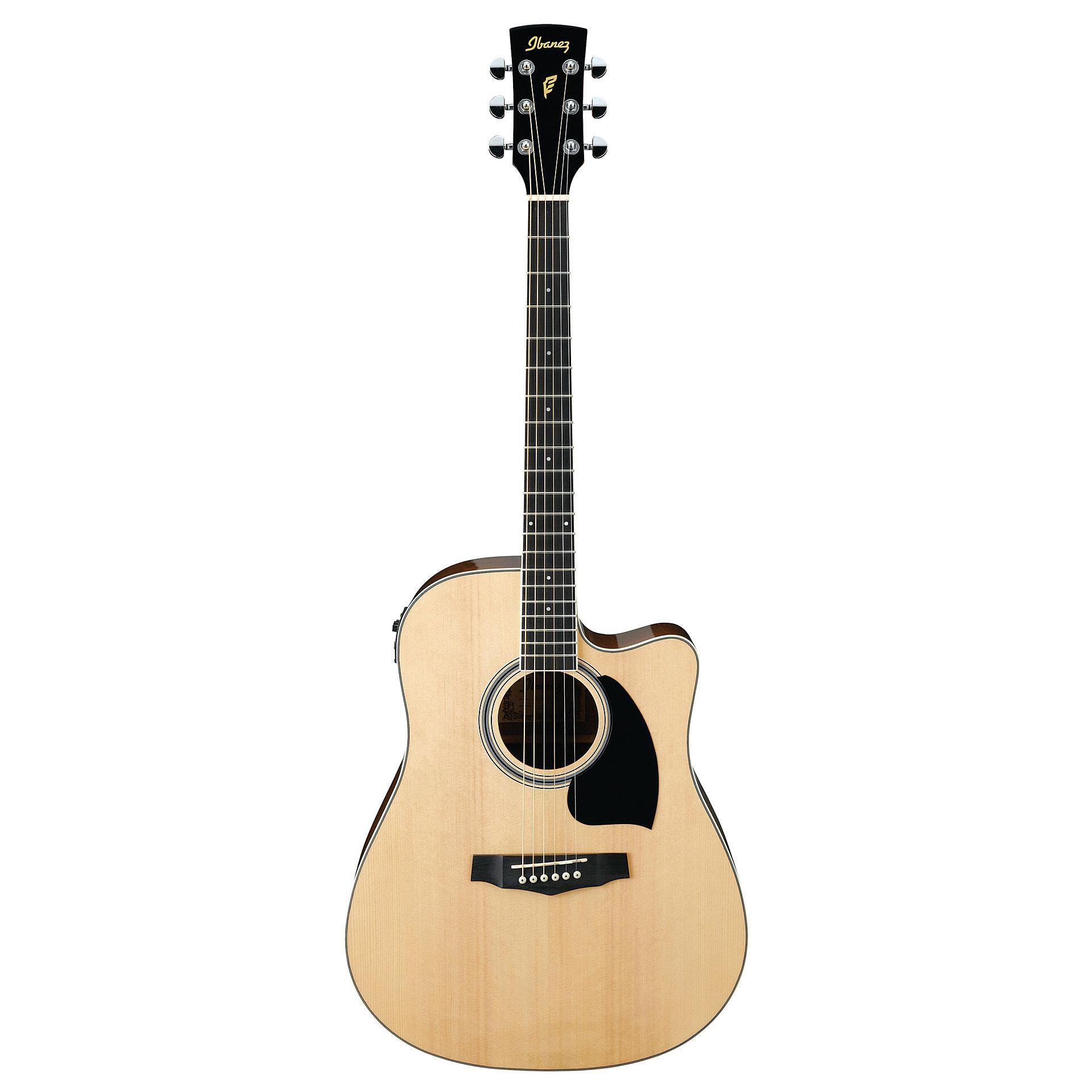ibanez pf15ece nt acoustic guitar musik produktiv. Black Bedroom Furniture Sets. Home Design Ideas