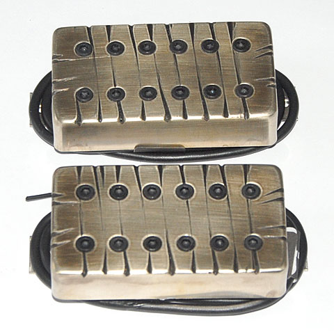 Pickup E-Gitarre Bare Knuckle Aftermath Covered Set