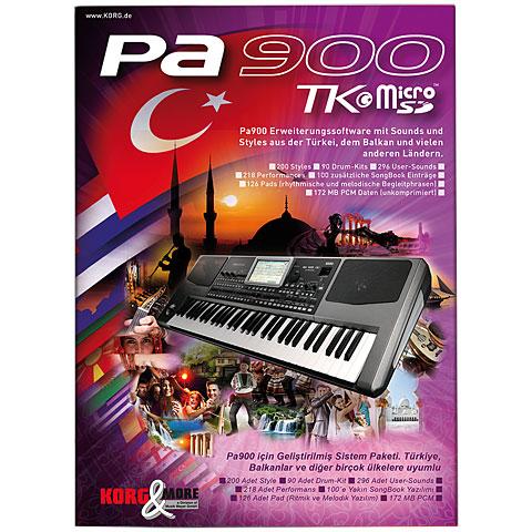 Software de extensión  Korg Pa 900 TK Micro SD