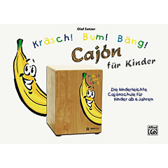 Alfred KDM Kräsch! Bum! Bäng! Cajon für Kinder « Instructional Book