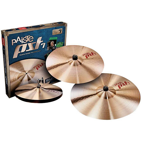 Bekken set Paiste PST 7 Light 14HH/16C/20R