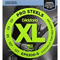 Set di corde per basso elettrico D'Addario EPS300-5 Pro Steels .043-127
