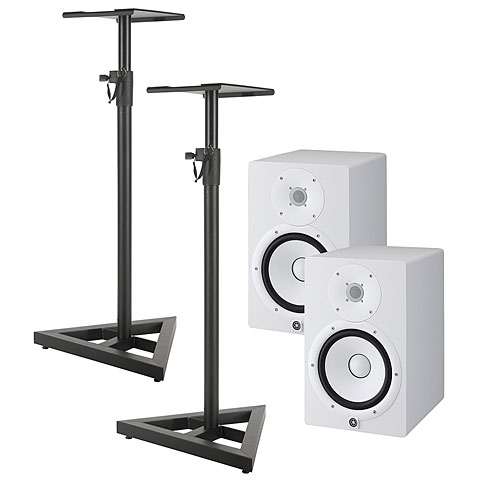 yamaha hs8 w stand bundle active monitor