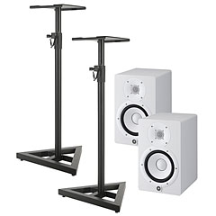 Yamaha HS7 W Stand Bundle « Enceintes actives