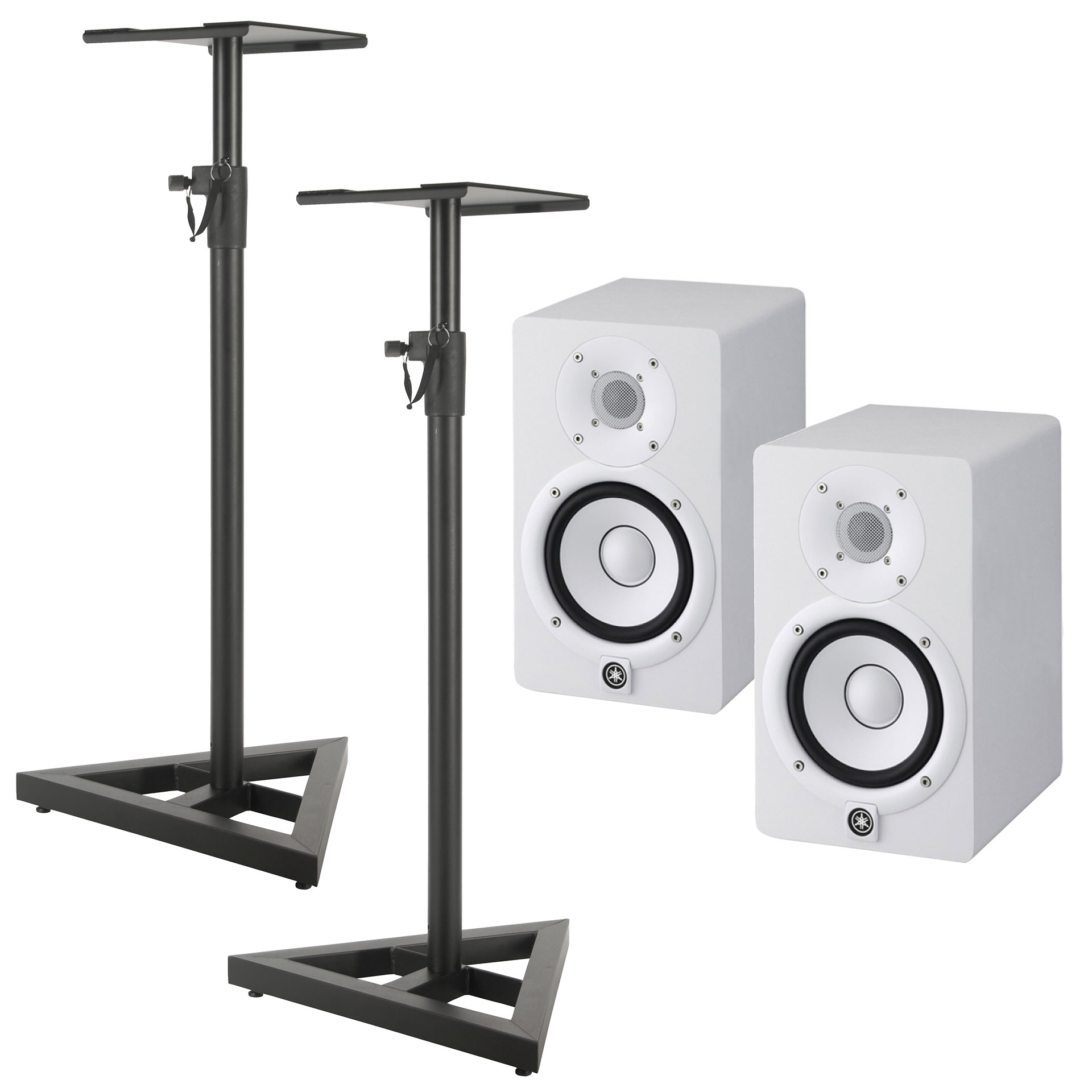 yamaha hs5 w stand bundle enceintes actives. Black Bedroom Furniture Sets. Home Design Ideas