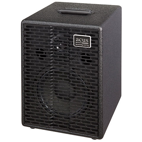 Amplificador guitarra acústica Acus One 8 Extension Cabinet Black