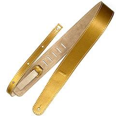 Richter Raw II Metallic Gold #1376 « Guitar Strap