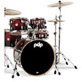 pdp Concept Maple CM5 Red to Black Sparkle Fade « Batería