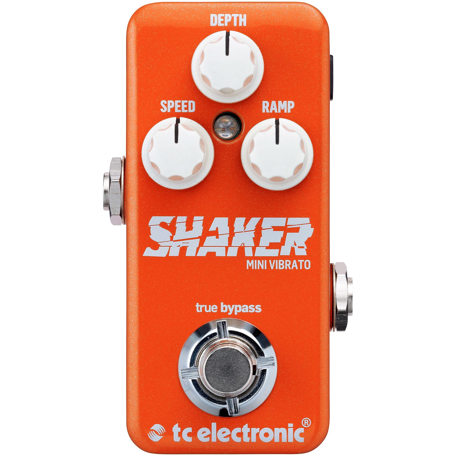 tc electronic shaker mini vibrato effets pour guitare lectrique. Black Bedroom Furniture Sets. Home Design Ideas