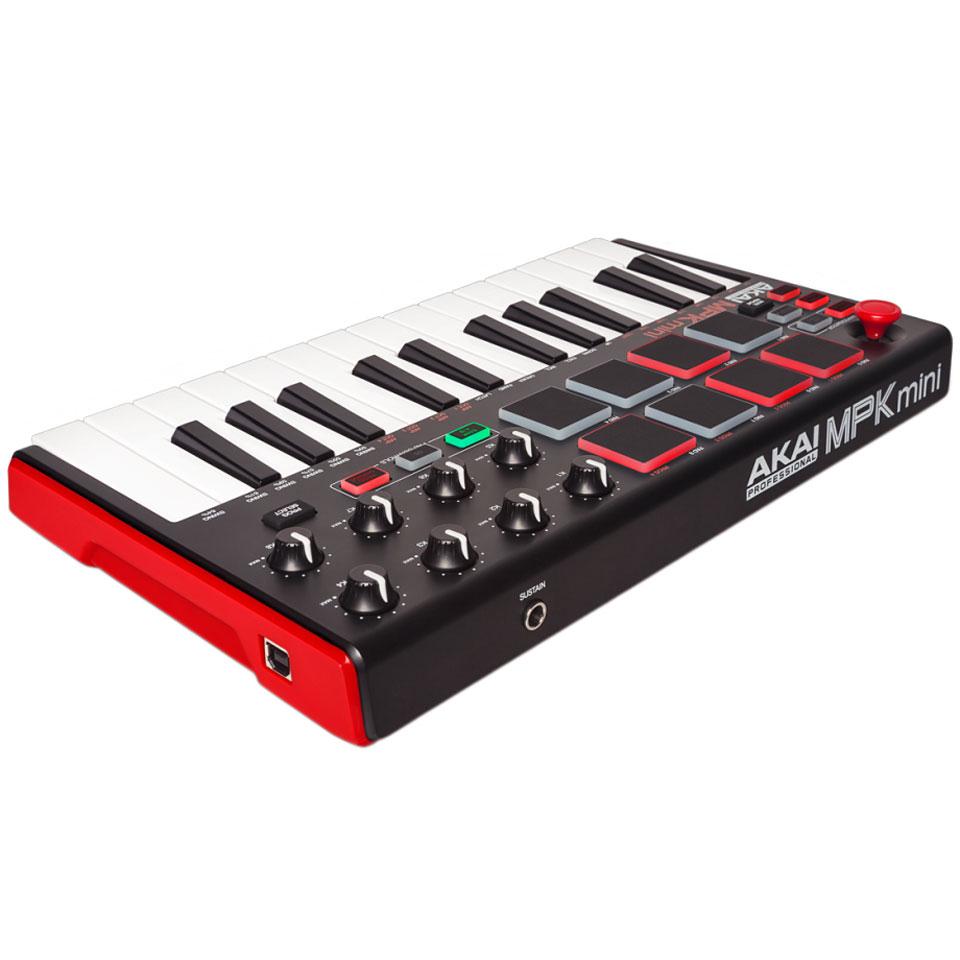 akai mpk mini mk2 master keyboard. Black Bedroom Furniture Sets. Home Design Ideas