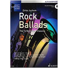 Schott Saxophon Lounge Rock Ballads Alto Sax « Recueil de Partitions