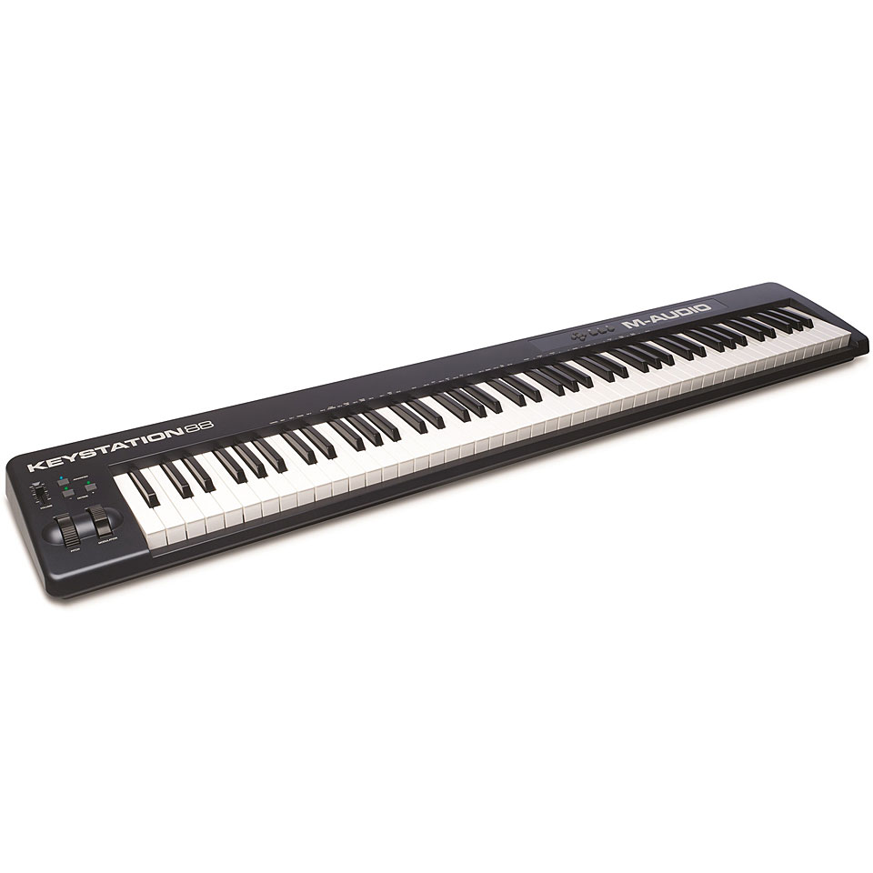 Midimasterkeyboards - M Audio Keystation 88 MkII Masterkeyboard - Onlineshop Musik Produktiv