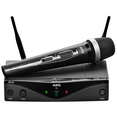 Funkmikrofon AKG WMS 420 Vocal Set D5-M