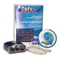 Компьютерное/программное управление    Enttec DMXIS, DMX-Software