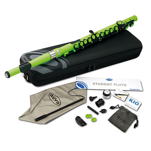 Transverse Flute Nuvo Student Flute Laser Green