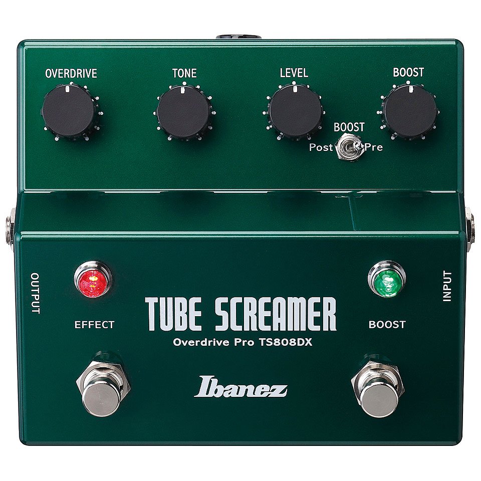 Фото ibanez ts808hw tube screamer overdrive guitar effects pedal ln #4