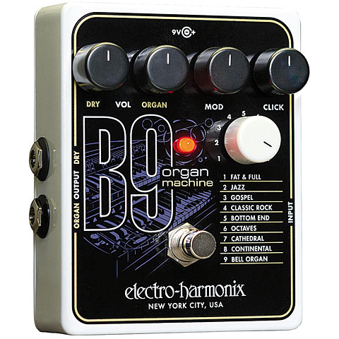Pedal guitarra eléctrica Electro Harmonix B9 Organ Machine