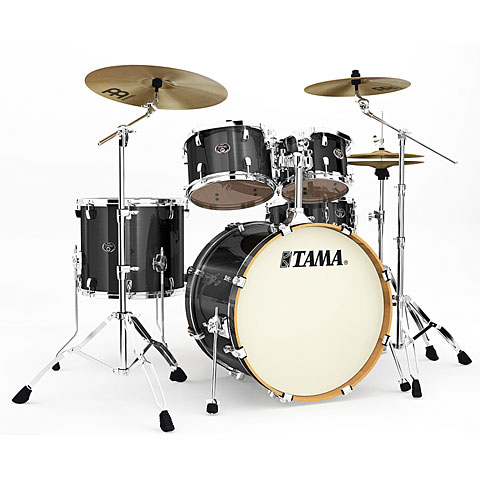 Tama Silverstar 22  Brushed Charcoal Black