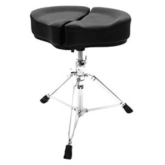 AHead Spinal Glide Black Saddel Drum Throne